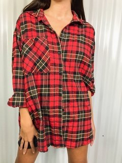CAMISA SCOTTISH ROJA