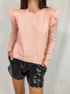 SWEATER VOLADOS ROSA