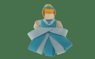 Laço animado Cinderela 3