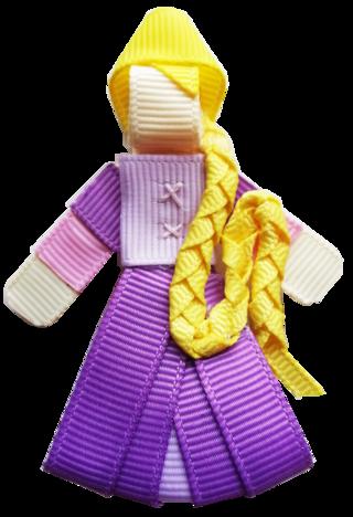 Laço animado Rapunzel