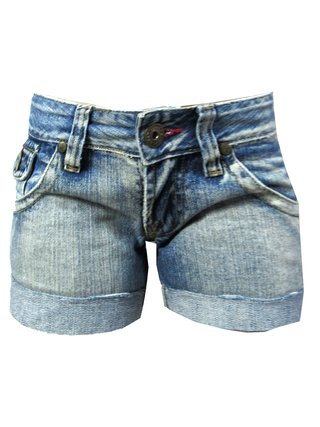 Shortinho Jeans Planet Girls