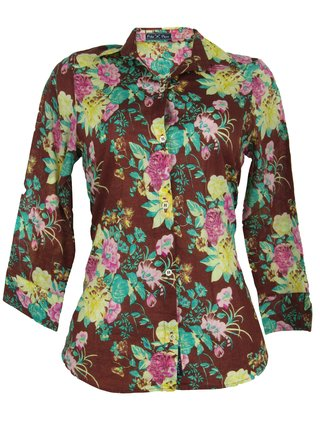 Camisa Floral Polo Play
