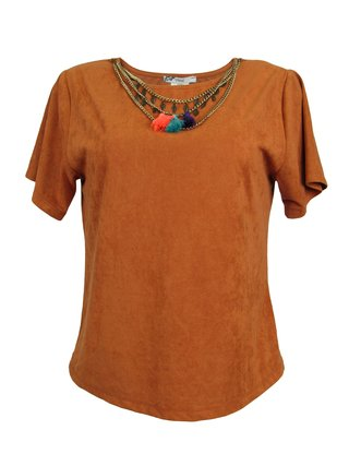 Blusa Suede Vitral