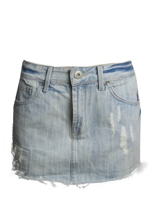 Mini Saia Jeans Zoomp