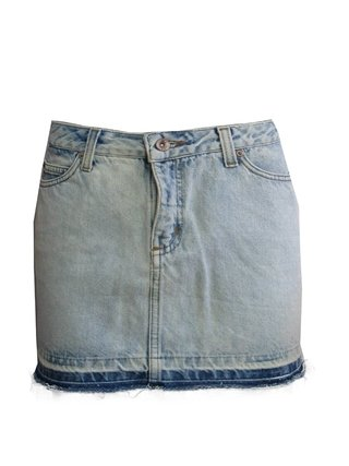 Mini Saia  Jeans Khelf