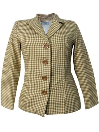 Blazer Xadrez Anne &Co