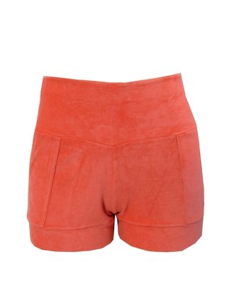 Shorts Plush Laranjinha