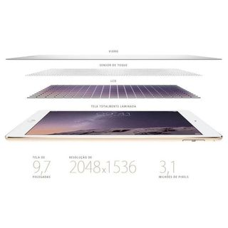 Image of iPad Air 2 MH1G2CL 128GB Wi-Fi 4G LTE 9.7