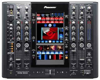 Pioneer Dj Mixer SVM 1000 4 Canais - Pioneer