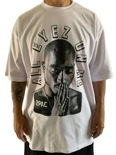 Camiseta tupac all eyez on me rap power na internet