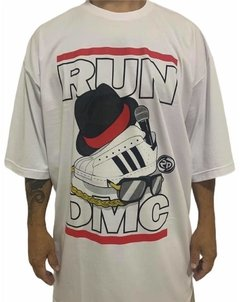 Camiseta rap power run dmc old school