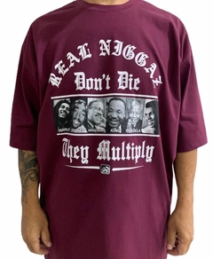 Camiseta rap power real niggaz