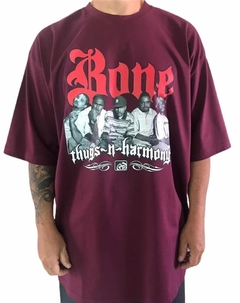 Camiseta rap power bone thugs n harmony na internet