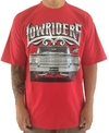Camiseta rap power lowrider