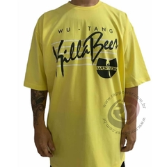 Camiseta rap power wu tang clan killa bees na internet
