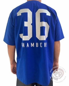 Camiseta rap power chambers 36