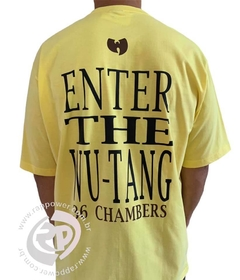 Camiseta rap power wu tang clan 36 chambers - Rap Power