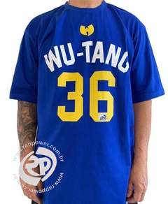 Camiseta rap power wu tang clan 36 chambers - loja online