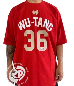 Camiseta rap power wu tang clan 36 chambers