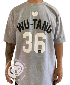Camiseta rap power wu tang clan 36 chambers na internet