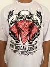 Camiseta Rap Power God Can Judge Us