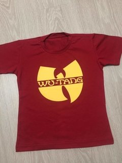 Imagem do Camiseta rap power wu tang clan infantil