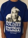 Camiseta Rap Power Tupac Soldier Survive - comprar online