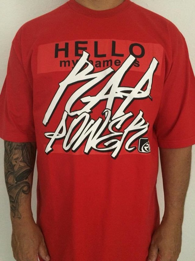 camiseta rap power