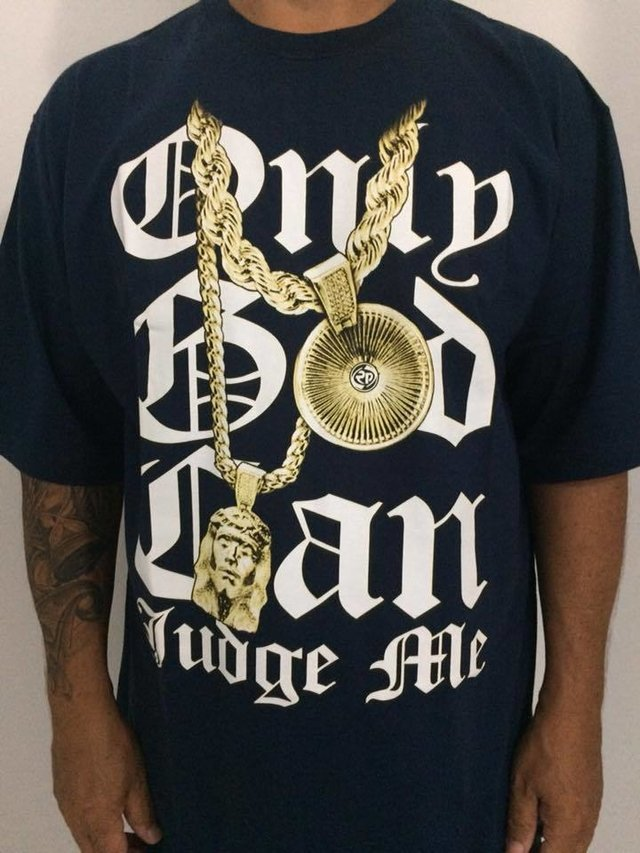 Camiseta Rap Power Only God Can - loja online