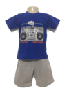 conjunto infantil rap power