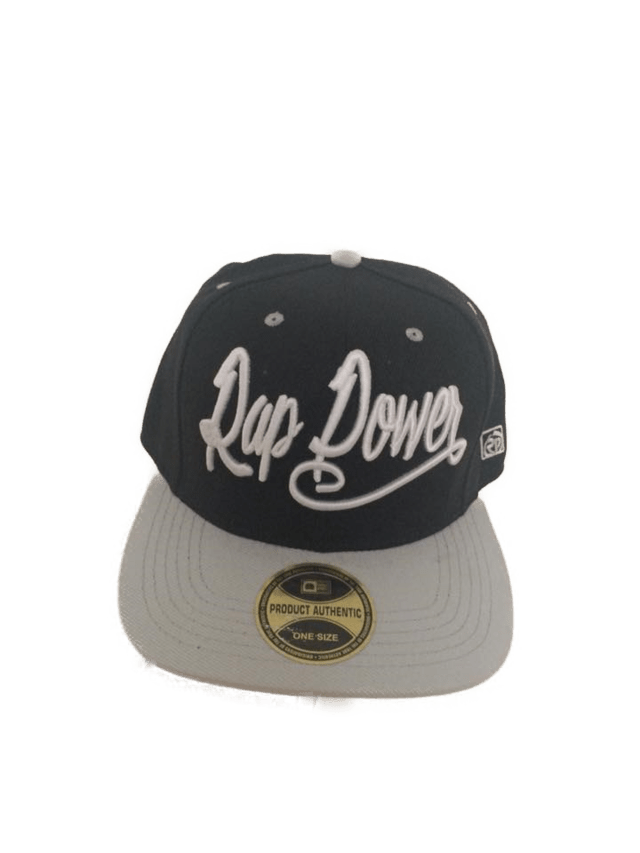 Bone Rap Power Lether Preto com Cinza - comprar online