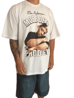 Camiseta Rap Power Mobb Deep Prodigy