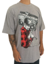 Camiseta rap power malcolm x na internet