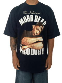 Camiseta Rap Power Mobb Deep Prodigy - Rap Power