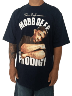 Camiseta Rap Power Mobb Deep Prodigy na internet
