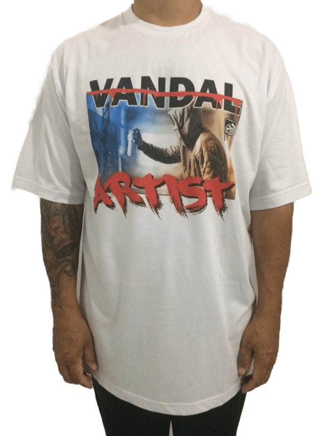 Camiseta Rap Power Artist