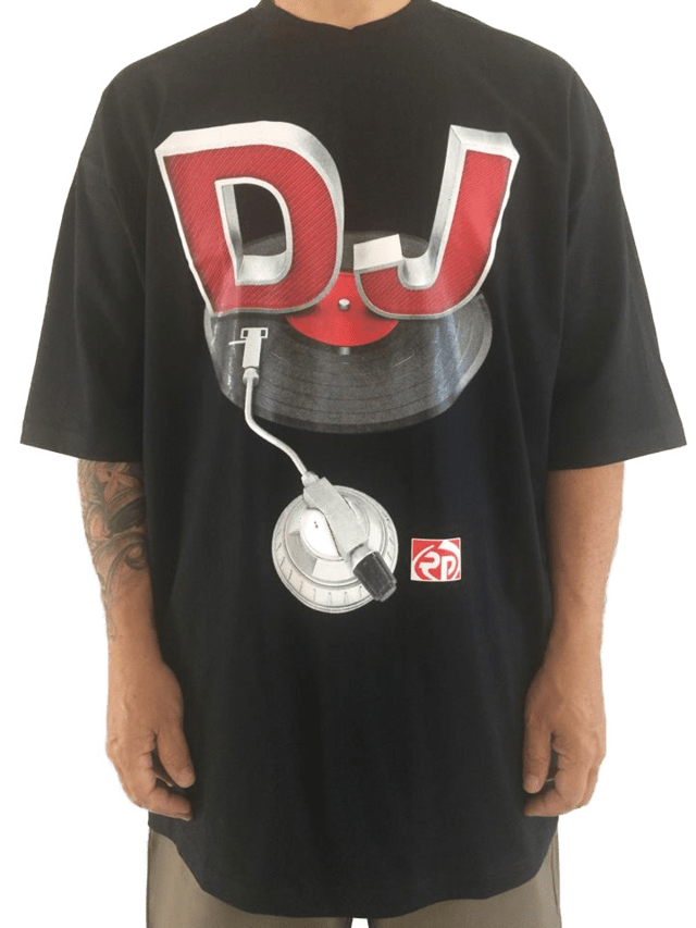 camiseta rap power dj