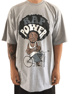Camiseta Rap power Bike Power