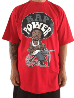 Camiseta Rap power Bike Power na internet