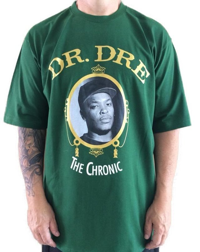 camiseta rap power dr. dree