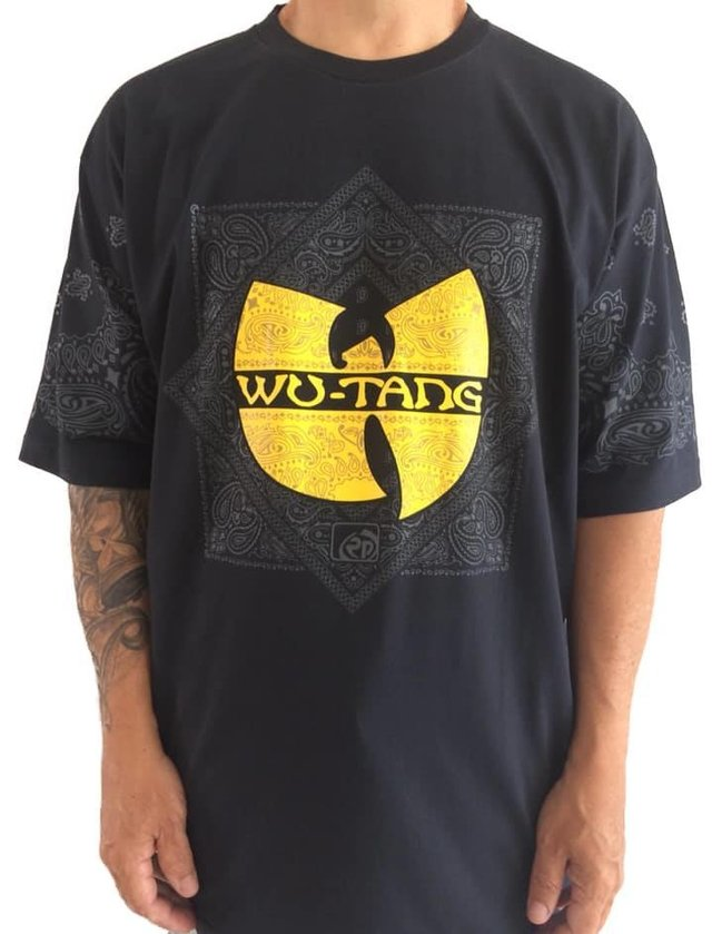 Camiseta Rap Power Wu Tang Clan Bandana