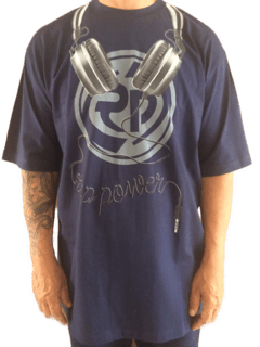 Camiseta Rap Power Dj Fone
