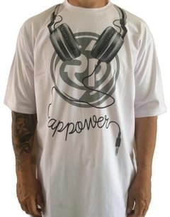 Camiseta Rap Power Dj Fone na internet