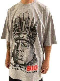 Camiseta notorious big ny rap power - comprar online