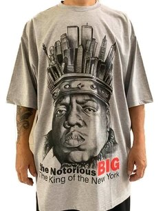 Camiseta notorious big ny rap power