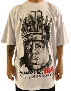 Camiseta notorious big ny rap power na internet