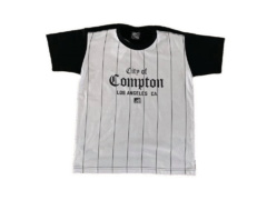 Camiseta Rap Power Infantil Compton