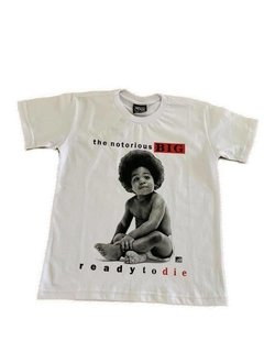 Camiseta Rap Power Notorious Big Infantil - comprar online