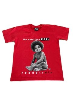 Camiseta Rap Power Notorious Big Infantil na internet