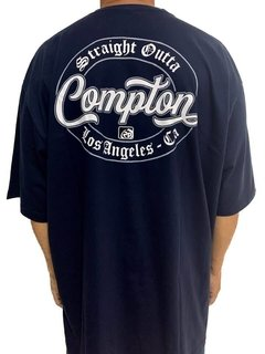 Camiseta Compton New Rap power - Rap Power